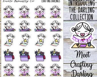 Crafting Darlings Planner Stickers