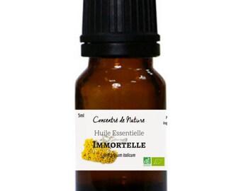 Organic Immortelle essential oil