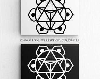 Sacred Geometry Decal,Sacred Geometry Vinyl Decal, Sacred Geometry Sticker, Sacred Geometry Car Decal, Car Sticker, Laptop Decal, Wall Art