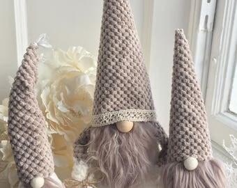 Christmas Tomte, Scandinavian Gnome, Christmas home decoration, Nisse, Handmade Christmas Gnomes, Santa, Holiday Decoration, Nordic Gnome