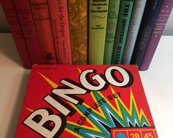 Vintage Bingo Board Game Set