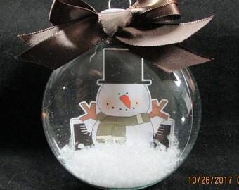 Snowman Floating Ornament