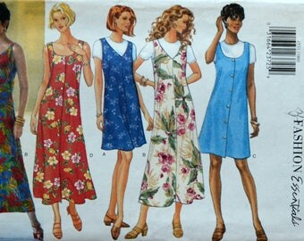 Uncut 1990s Butterick Vintage Sewing Pattern 4531, Size 6-8-10; Misses' Jumper and Top