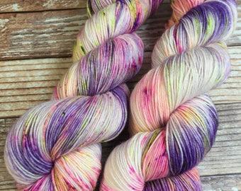 Isabel - Flores  - Hand Dyed Yarn - 75/25 Superwash Merino/Nylon