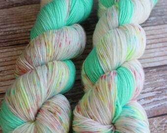 Isabel - O Christmas Tree - Hand Dyed Yarn - 75/25 Superwash Merino/Nylon
