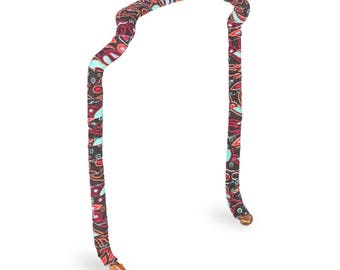 Paisley Wrapped Zazzy Bandz: Comfortable Headband that fits like sunglasses, No Pressure Points=No Headaches! Free Shipping in US!