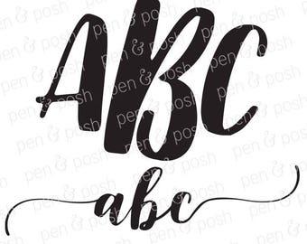 SVG Font - Monogram Fonts - Monogram Font SVG - Font  Monogram SVG - Monogram Fonts for Cricut - Svg Fonts for Cricut