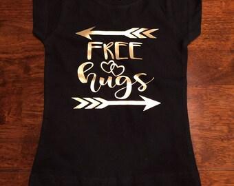 Free Hugs - Infant/Toddler Girl Shirt