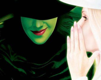 Wicked Musical Theater Poster A3 or A4 Matt