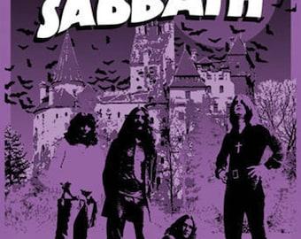 Black Sabbath - Tulsa Oklahoma Poster A3 or A4 Matt