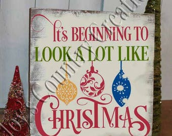 It's beginning to look a lot like Christmas  SVG, PNG, JPEG