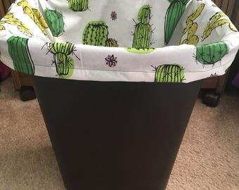 Trash Can Liner, Vinyl Trash Bag, Reusable Bin Liner, Eco-Friendly, Reusable Trash Bag, Budget Friendly, Plastic Bag Alternative, PEVA