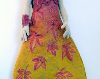 LA206E -Bella,  Cloth/Fabric Doll Making Sewing  Pattern - PDF Download