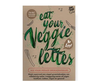No Egg Veggielettes-Vegan Vegetable biscuits-mix