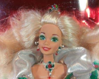 1995 Happy Holidays Barbie