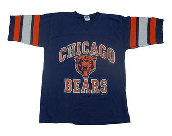 1992 Vintage Chicago Bears Jersey - Vintage 1990s NFL Chicago Bears Made in USA - XL