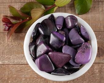 6 - 10g One Polished SUGILITE Stone from South Africa - Polished Stone, Healing Stone, Chakra Stone, Purple Stone, Sugalite E0485