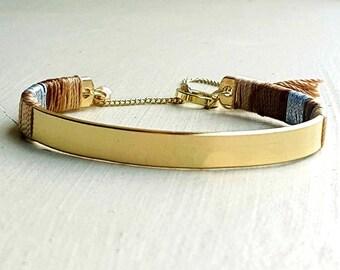Colorful ethnic bracelet