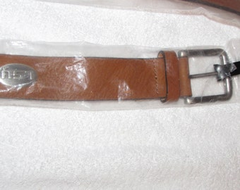 LSU Tigers louisiana state  Genuine Leather  Tan Belt  Size 34 new ENMON