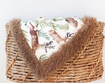 Organic baby blanket, winter baby blanket, cot blanket, stroller blanket, car seat blanket, infant blanket, newborn blanket, baby shower