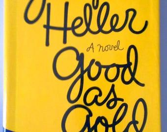 Joseph Heller, Good as Gold, 1979.  Signed by Heller