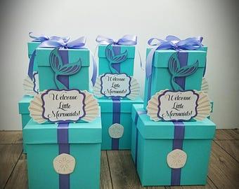 2 Tier Mermaid Centerpiece Under The Sea Centerpiece for Baby Shower,  Bridal Shower, Wedding, Birthday