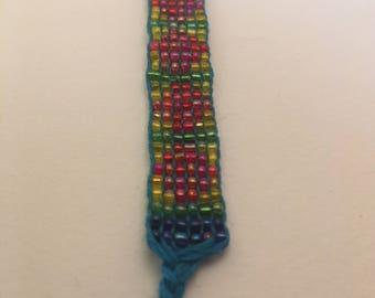 Spring Season Loom Beaded Bracelet