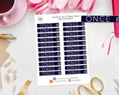 Once Upon A Time TV Show / Series Planner Stickers for Erin Condren, Happy Planner, Kikki K, Travelers Notebook, Bujo, Filofax etc