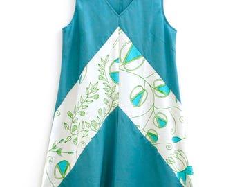 Bias Cut Dress - Bush Foods Design by Selina Nadjowh