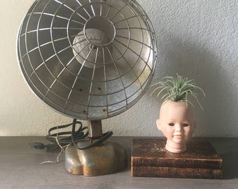 Vintage space heater,  Industrial décor,  Focalipse Space Heater