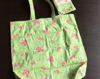 Japanese fabric foldable shopping bag