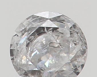 2.20 MM 0.041 Ct Natural Loose Diamond Cut Round Shape F Color I2 Clarity N4710