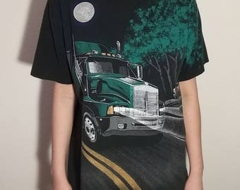 Vintage Night Trucker Tee