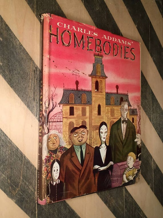 Homebodies by Charles Addams (1954) first edition book