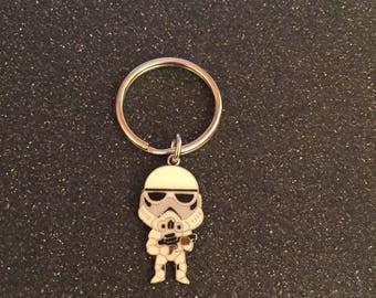 Star Wars Storm trooper keychain