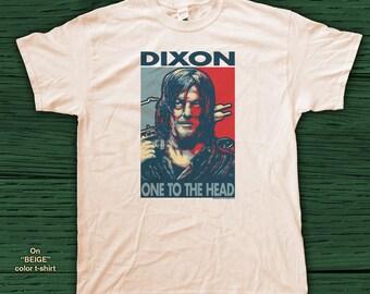 "DIXON ""HOPE"" style T-Shirts - pre shrunk 100% Cotton short sleeve t-shirt - The Walking Dead - Daryl Dixon - Zombies"