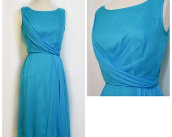 Blue 50s/60s Party Dress