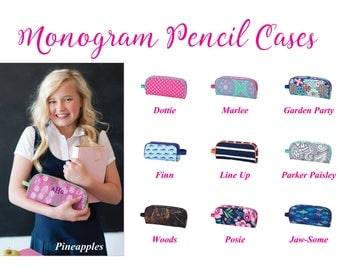 Personalized Pencil Case, Monogram Pencil Case, Personalized Pencil Pouch, Monogram Pencil Pouch, Pencil Bag, Camo Pencil Case