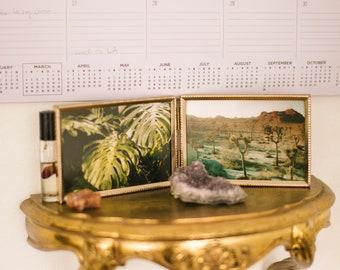 Getaway dyptic vintage frame