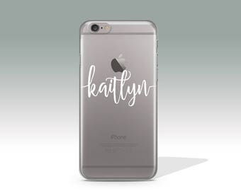 Personalized iPhone 7 Case, Customized iPhone 7 Plus Case, Custom Name iPhone 6 Case, iPhone Case with Custom Name, Personalised Gift PC/4