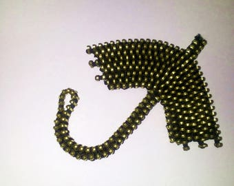 Fall brooch Rain jewelry Autumn brooch Weather jewelry Umbrella pin Umbrella brooch Zipper jewelry Rainy Day jewelry Christmas gift