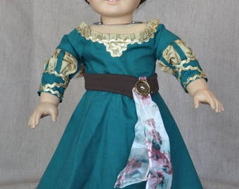 "Princess Gown fits all  18"" dolls including American Girl"