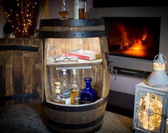 Small Barrel Drinks Cabinet