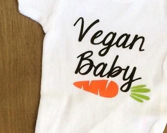 Vegan Baby Onesies *Customized*