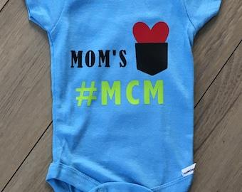 Mom's #MCM Boys Onesie