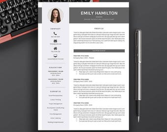 Resume Objective Vs Summary Modern Resume Template For Word Minimalist Resume Design  Resume Templates For Mac Excel with Word Resume Template 2010 Word Professional Resume Template Cv Template Word Resume Ms Word Modern  Creative Simple Collection Resume