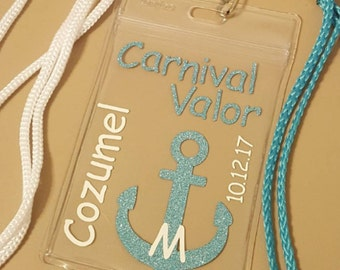 Cruise Lanyards: weddings, birthdays, family reunions