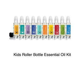 Kid's Essential Oil Roller Bottles (individual or set)