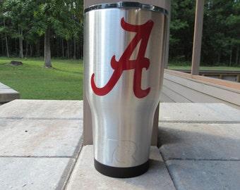 Alabama Tumble/University of Alabama Tumbler/ 20oz RTIC Cup