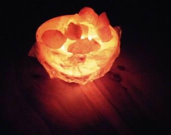 Pure Himalayan Salt Lamp Fireball | Lamp  | Salt Lamps | Home Decor